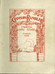 1945 Edition, Standish High School - Crimson Rambler Yearbook (Standish, ME)