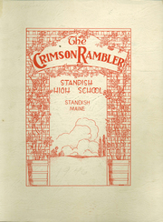 1946 Edition, Standish High School - Crimson Rambler Yearbook (Standish, ME)