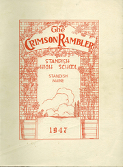 Page 1, 1947 Edition, Standish High School - Crimson Rambler Yearbook (Standish, ME) online yearbook collection