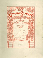 1948 Edition, Standish High School - Crimson Rambler Yearbook (Standish, ME)