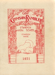 1951 Edition, Standish High School - Crimson Rambler Yearbook (Standish, ME)