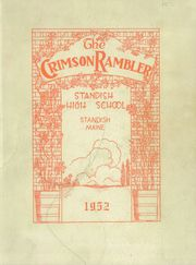 1952 Edition, Standish High School - Crimson Rambler Yearbook (Standish, ME)