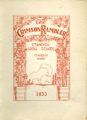 1953 Edition, Standish High School - Crimson Rambler Yearbook (Standish, ME)