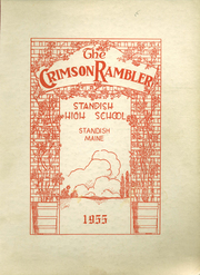 1955 Edition, Standish High School - Crimson Rambler Yearbook (Standish, ME)