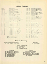 Page 11, 1951 Edition, Potter Academy - Wreath Yearbook (Sebago Lake, ME) online yearbook collection