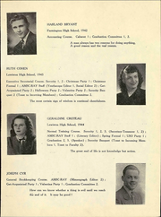 Page 15, 1947 Edition, Auburn Maine School of Commerce - Ray Yearbook (Auburn, ME) online yearbook collection