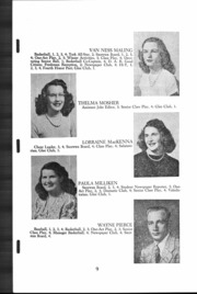 Page 10, 1947 Edition, Kennebunkport High School - Skipper Yearbook (Kennebunkport, ME) online yearbook collection
