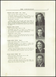 Page 11, 1942 Edition, Lincoln Academy - Lincolnian Yearbook (Newcastle, ME) online yearbook collection