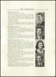 Page 13, 1942 Edition, Lincoln Academy - Lincolnian Yearbook (Newcastle, ME) online yearbook collection