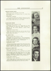 Page 15, 1942 Edition, Lincoln Academy - Lincolnian Yearbook (Newcastle, ME) online yearbook collection