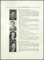 Page 16, 1942 Edition, Lincoln Academy - Lincolnian Yearbook (Newcastle, ME) online yearbook collection