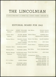 Page 5, 1942 Edition, Lincoln Academy - Lincolnian Yearbook (Newcastle, ME) online yearbook collection