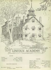 Page 7, 1952 Edition, Lincoln Academy - Lincolnian Yearbook (Newcastle, ME) online yearbook collection