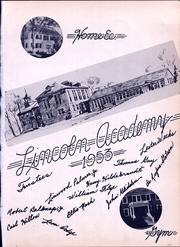 Page 5, 1953 Edition, Lincoln Academy - Lincolnian Yearbook (Newcastle, ME) online yearbook collection