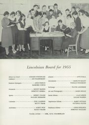 Page 6, 1955 Edition, Lincoln Academy - Lincolnian Yearbook (Newcastle, ME) online yearbook collection