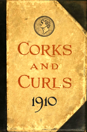 Page 1, 1910 Edition, University of Virginia - Corks and Curls Yearbook (Charlottesville, VA) online yearbook collection