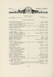 Page 154, 1927 Edition, University of Virginia - Corks and Curls Yearbook (Charlottesville, VA) online yearbook collection
