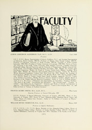 Page 37, 1927 Edition, University of Virginia - Corks and Curls Yearbook (Charlottesville, VA) online yearbook collection