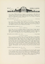 Page 38, 1927 Edition, University of Virginia - Corks and Curls Yearbook (Charlottesville, VA) online yearbook collection