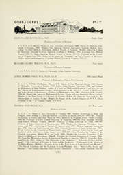 Page 39, 1927 Edition, University of Virginia - Corks and Curls Yearbook (Charlottesville, VA) online yearbook collection