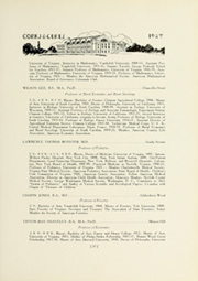 Page 47, 1927 Edition, University of Virginia - Corks and Curls Yearbook (Charlottesville, VA) online yearbook collection