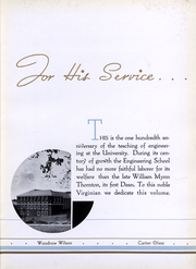 Page 10, 1936 Edition, University of Virginia - Corks and Curls Yearbook (Charlottesville, VA) online yearbook collection