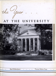 Page 8, 1936 Edition, University of Virginia - Corks and Curls Yearbook (Charlottesville, VA) online yearbook collection