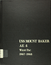 1968 Edition, Mount Baker (AE 4) - Naval Cruise Book