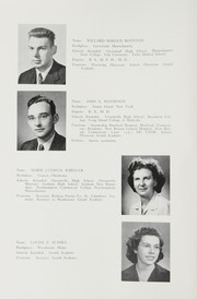 Page 16, 1950 Edition, Gould Academy - Herald Yearbook (Bethel, ME) online yearbook collection