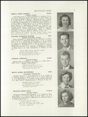 Page 11, 1944 Edition, George Stevens Academy - Mountain Echo Yearbook (Blue Hill, ME) online yearbook collection