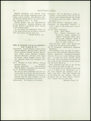 Page 16, 1944 Edition, George Stevens Academy - Mountain Echo Yearbook (Blue Hill, ME) online yearbook collection