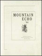 Page 3, 1944 Edition, George Stevens Academy - Mountain Echo Yearbook (Blue Hill, ME) online yearbook collection