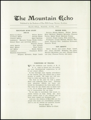 Page 7, 1944 Edition, George Stevens Academy - Mountain Echo Yearbook (Blue Hill, ME) online yearbook collection