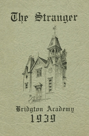 1939 Edition, Bridgton Academy - Stranger Yearbook (Bridgton, ME)