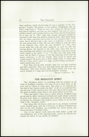 Page 14, 1939 Edition, Bridgton Academy - Stranger Yearbook (Bridgton, ME) online yearbook collection