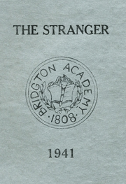 1941 Edition, Bridgton Academy - Stranger Yearbook (Bridgton, ME)