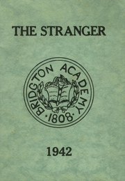 1942 Edition, Bridgton Academy - Stranger Yearbook (Bridgton, ME)