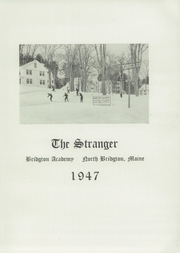 Page 5, 1947 Edition, Bridgton Academy - Stranger Yearbook (Bridgton, ME) online yearbook collection