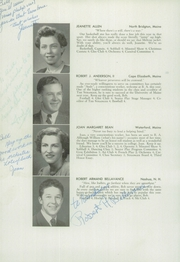 Page 14, 1948 Edition, Bridgton Academy - Stranger Yearbook (Bridgton, ME) online yearbook collection