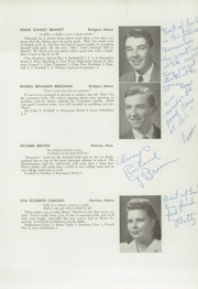 Page 15, 1948 Edition, Bridgton Academy - Stranger Yearbook (Bridgton, ME) online yearbook collection