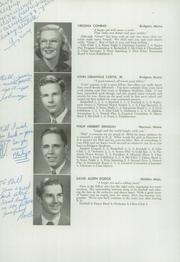 Page 16, 1948 Edition, Bridgton Academy - Stranger Yearbook (Bridgton, ME) online yearbook collection