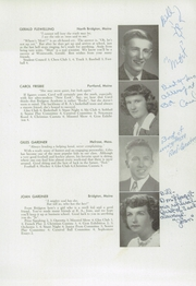 Page 17, 1948 Edition, Bridgton Academy - Stranger Yearbook (Bridgton, ME) online yearbook collection