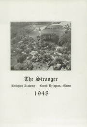 Page 5, 1948 Edition, Bridgton Academy - Stranger Yearbook (Bridgton, ME) online yearbook collection