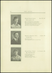Page 14, 1916 Edition, Bucksport Seminary Preparatory School - Ariel Yearbook (Bucksport, ME) online yearbook collection
