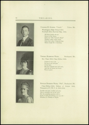 Page 16, 1916 Edition, Bucksport Seminary Preparatory School - Ariel Yearbook (Bucksport, ME) online yearbook collection