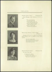 Page 7, 1916 Edition, Bucksport Seminary Preparatory School - Ariel Yearbook (Bucksport, ME) online yearbook collection