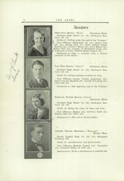 Page 10, 1932 Edition, Bucksport Seminary Preparatory School - Ariel Yearbook (Bucksport, ME) online yearbook collection