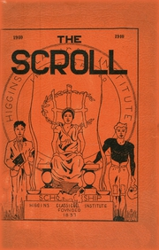 1940 Edition, Higgins Classical Institute - Scroll Yearbook (Charleston, ME)