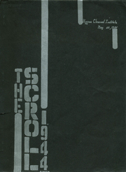 1944 Edition, Higgins Classical Institute - Scroll Yearbook (Charleston, ME)
