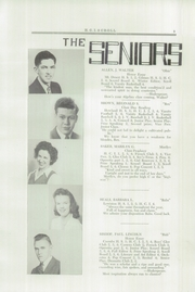 Page 11, 1946 Edition, Higgins Classical Institute - Scroll Yearbook (Charleston, ME) online yearbook collection